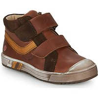 GBB  OMALLO  boys's Children's Shoes (High-top Trainers) in Brown