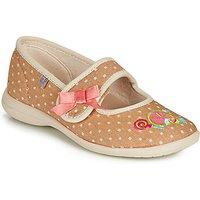 GBB  MELINA  girls's Children's Slippers in Beige