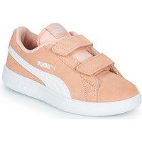 Puma  SMASH PSV PEACH  girls's Children's Shoes (Trainers) in multicolour