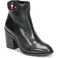 Tommy Hilfiger  CORPORATE HARWARE BOOTIE  women's Low Ankle Boots in Black
