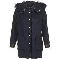 Suncoo  ELFIE  womens Coat in Blue