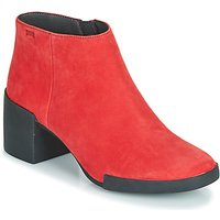 Camper  LOTTA  women's Low Ankle Boots in Red
