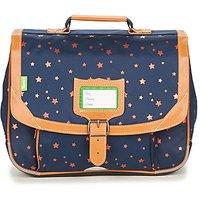 Tann's  ETOILE MARINE CARTABLE 35 CM  girls's Briefcase in Blue