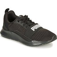 Puma  PUMA WIRED.BLK  men's Shoes (Trainers) in Black