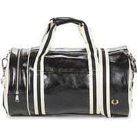 Fred Perry  CLASSIC BARREL BAG  mens Sports bag in Black