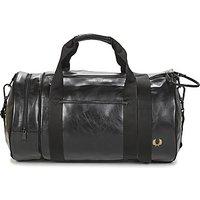 Fred Perry  TONAL BARREL BAG  mens Sports bag in Black