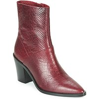 Bronx-NEW-AMERICANA-LOW-womens-Low-Ankle-Boots-in-Bordeaux
