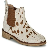 Bensimon  BOOTS CABOURG  women's Mid Boots in Beige
