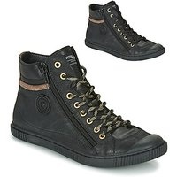 Pataugas  BONO  womens Shoes (High-top Trainers) in Black