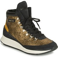Philippe Model  MONTECARLO  womens Shoes (High-top Trainers) in Gold