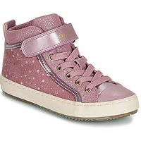 Geox  J KALISPERA GIRL  girls's Children's Shoes (High-top Trainers) in Pink