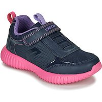 Geox  J WAVINESS  girls's Children's Shoes (Trainers) in multicolour