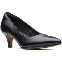 Clarks  Linvale Jerica Womens Wide Fit Dress Court Shoes  women's Court Shoes in Black