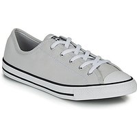 'Converse  Chuck Taylor All Star Dainty Gs  Canvas Ox  Women's Shoes (trainers) In Grey