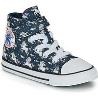 Converse  CHUCK TAYLOR ALL STAR 1V UNICONS HI  girls's Children's Shoes (High-top Trainers) in Blue