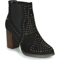 Xti  LOVALO  women's Low Ankle Boots in Black
