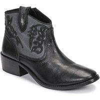 Les Tropéziennes par M Belarbi  AMELIE  women's Low Ankle Boots in Black