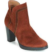 Karston  VASOR  women's Low Ankle Boots in Brown