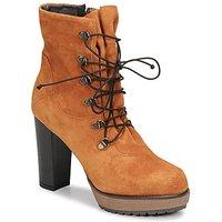 Sweet Lemon  SIROLA  women's Low Ankle Boots in Brown