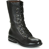 Airstep / A.S.98  TEAL LACE  womens Mid Boots in Black