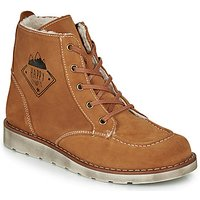 Citrouille et Compagnie  LISITON  boys's Children's Mid Boots in Brown