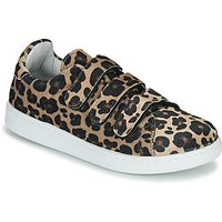 Yurban  LABANE  women's Shoes (Trainers) in Brown