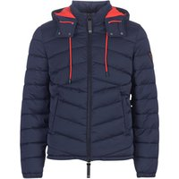 Guess  PUFFA HOODED  mens Jacket in Blue