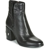 Mjus  TWISTER METAL  women's Low Ankle Boots in Black