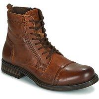 Jack   Jones  JFW RUSSEL LEATHER  men's Mid Boots in Brown