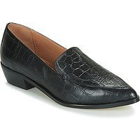 Betty London Lettie Loafers / Casual Shoes In Black