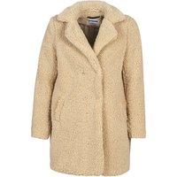 Noisy May  NMGABI  womens Coat in Beige