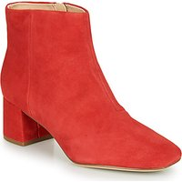 Clarks  SHEER FLORA  women's Low Ankle Boots in Red