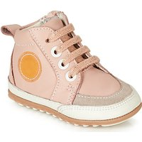 Robeez  MIGO  girls's Children's Shoes (High-top Trainers) in Pink