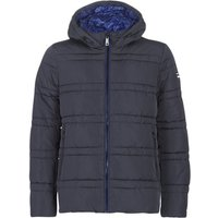 Scotch   Soda  CLASSIC HOODED PRIMALOFT JACKET  men's Jacket in Blue