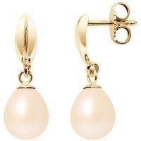 Blue Pearls  BPS K321 W -  womens Earrings in Multicolour