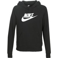 Nike  W NSW ESSNTL HOODIE PO  HBR  women's Sweatshirt in Black