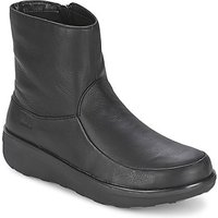 FitFlop-LOAFF-SHORTY-ZIP-BOOT-womens-Low-Ankle-Boots-in-Black