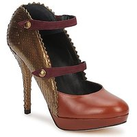 Karine Arabian  PHOENIX  womens Court Shoes in Brown