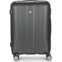 David Jones  CHAUVETTO 72L  mens Hard Suitcase in Grey