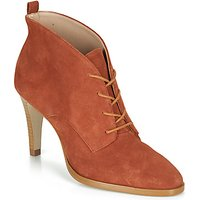 André  LITCHI  women's Low Ankle Boots in Orange