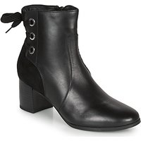 André  MANON  women's Low Ankle Boots in Black