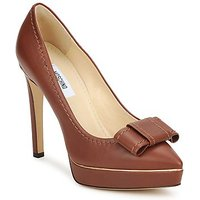 Moschino  MA1009  womens Court Shoes in Brown
