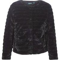 Lauren Ralph Lauren  FAUX CHUBBY  womens Coat in Black