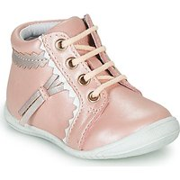 GBB  ACINTA  girls's Children's Shoes (High-top Trainers) in Pink