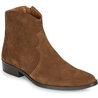 André  WESTERN  men's Mid Boots in Brown