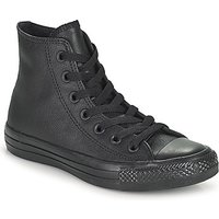 Converse All Star Leather Hi Shoes (high-top Trainers) In Black