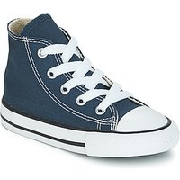 'Converse  All Star Hi  Girls's Children's Shoes (high-top Trainers) In Blue. Sizes Available:4 Toddler,5 Toddler,7toddler,8 Toddler,9 Toddler,10 Kid,2 Toddler,3 Toddler,4 Toddler,5 Toddler,6 Toddler,7 Toddler,9 Toddler,10 Toddler,3.5 Toddler,4.5 Toddler,8.5 Toddler