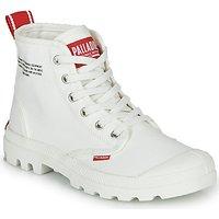 Palladium  PAMPA HI DU C  women's Mid Boots in White