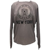 Charlie Joe  Top New york Est 1967  Taupe  womens Blouse in Brown