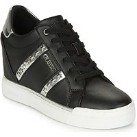 Guess  FL5FAY-ELE12-BLACK-SILVER  women's Shoes (High-top Trainers) in Black